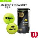 [ウィルソン テニス ボール]US OPEN EXTRA DUTY 2球入(エクストラデューティ)『缶単位(1缶/2球)』(WRT1000J)