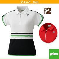 プリンス/prince テニス・バトミントンジュニアウェア ゲームシャツ/ガールズ(WJ176G)の画像