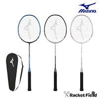 【ガット張上済】ミズノ MIZUNO バドミントンラケット FIRST SONIC(73JTB97827・73JTB97854・73JTB97864)ミズノ バドミントン ラケット 初心者 セット ミズノ ファーストソニック バトミントン ラケット 初心者向き ラケットケース セット badminton racket 羽毛球拍の画像