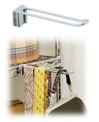 メタルラックフック MR-15F【25mm/収納/スチール/メタルシェルフ/ラック/ワイヤ…...:rackworld:10002074