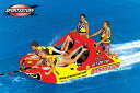 トーイングチューブ バナナボート 4人乗り SPORTSSTUFF スポーツスタッフ BAND WAGON(2+2) バンドワゴン トーイングチューブ