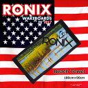 2017 ウェイクボード RONIX ロニックス ビーチタオ...