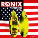 """2017 ウェイクサーフィン RONIX ロニックス Modello Surf Edition Fish Skim 4'9"""""""