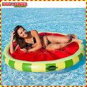 浮き輪 子供 プール フロート アクアラウンジ フルーツ柄 水上 マット 水遊び 浮輪 1人用