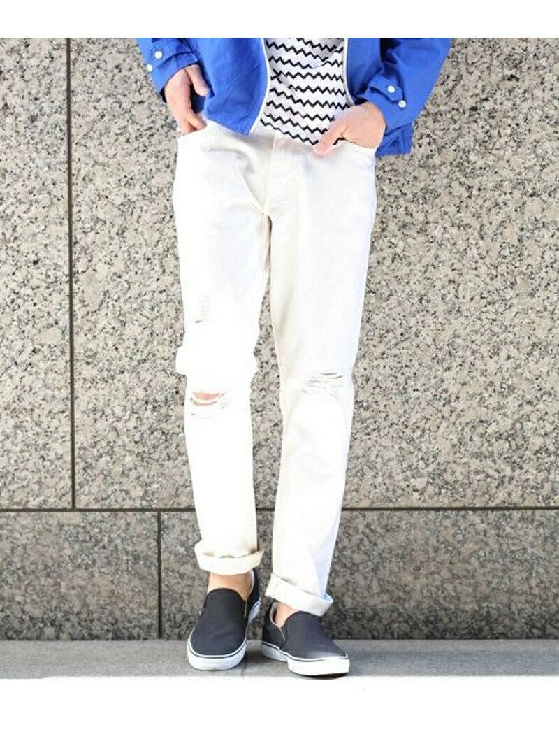 【me_f】【m_p】RAGEBLUE メンズ パンツ/ジーンズ レイジブルー RAGEBLUE ダメージカコウデニム5P レイジブルー パンツ/ジーンズ【RBA_S】【RBA_E】