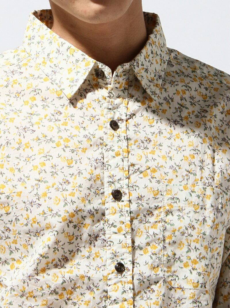 RAGEBLUE メンズ シャツ/ブラウス レイジブルー RAGEBLUE フラワーガラシャツ7/S レイジブルー シャツ/ブラウス【RBA_S】