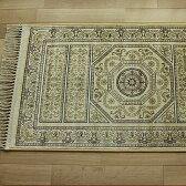 玄関マット 室内 高級感ある雰囲気 シルク の風合い ペルシャ絨毯 デザイン 65×110cm 激安玄関マット 通販 送料無料 ベルギー絨毯 ペルシャ玄関マット 屋内 風水 【RCP】