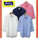 フェローズ PHERROW'S リネン混 七分袖ボタンダウンシャツ 16S-P7BD1