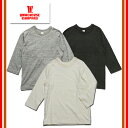 (★クーポン発行) WAREHOUSE/ウエアハウス 4049 3/4 FREEDOM TEE 七分袖Tシャツ フリーダム 無地