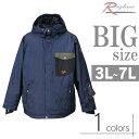 ショッピングスノーボード 大きいサイズ スノボージャケット メンズ 中綿キルト デニム柄プリント 高機能 C291113-11