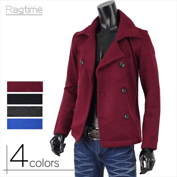 Pコート メンズ Pジャケット ニット コート ...の商品画像