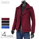 ショッピングピーコート Pコート メンズ Pジャケット ニット コート カジュアル 無地 ニットコート メンズコート G260730-04
