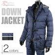 コート ダウン メンズ ダッフル コート ダウンジャケット 暖か チェック 防寒 V270820-08