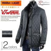 ハーフコート メンズ キルティング 中綿 ダウンコート 暖か ダウン ジャケット V270820-16