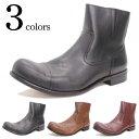 ショッピングエンジニアブーツ ブーツ メンズ ショートブーツ レザーブーツ メンズ サイドジップ エンジニア ブーツ