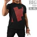ショッピング棚 BIGサイズ 棚橋弘至 C 新日本プロレス Tシャツ 大きいサイズ メンズ プリントTシャツ C010530-10