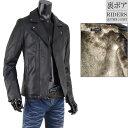 ショッピングレザージャケット 革ジャン ボア ファー レザージャケット ライダースジャケット メンズ フェイクレザー S290905-05