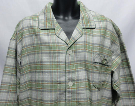 【送料無料】2L/3Lサイズ暖かいネル素材上着...の紹介画像2