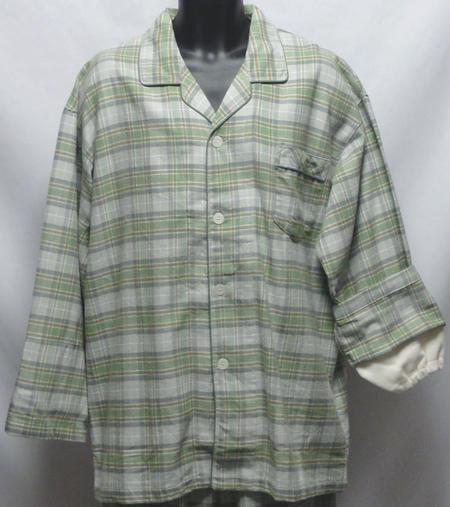 【送料無料】2L/3Lサイズ暖かいネル素材上着...の紹介画像3