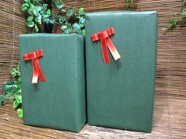 R贈り物包装と、リボン ラッピングする(商品別途)