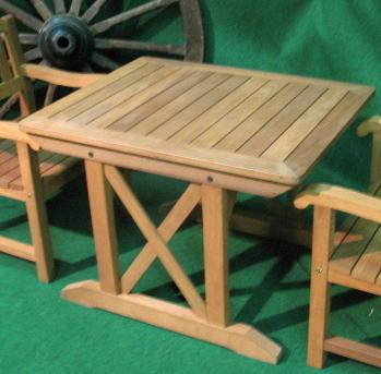 ガーデニングテーブル2人用