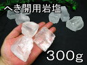 へき開用ヒマラヤ岩塩ホワイト岩塩【白い岩塩】学校教材・実習・実験劈開用岩塩3個300gセット