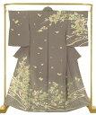 ショッピング梅 正絹 手描き訪問着 臈纈花宴 結婚式 卒業式 フォーマル 和装 着物
