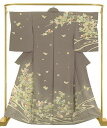 Kimono - 正絹手描き訪問着 臈纈花宴 結婚式 卒業式 フォーマル 和装 着物