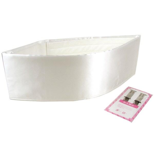 前結び板 くるピタッ 白 着物 浴衣 着付け小物 和装 帯板...:rakuichikimono:10002843
