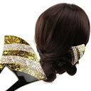 髪飾り 黒留袖 結婚式 成人式 和装 バチ型簪 かんざし 螺鈿に金箔 着物 卒業式 入学式 ヘアアクセサリー ウェディング 前撮り パーティー 花しおり ゴールド