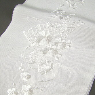 By Bill 2569 yen (excluding tax) collar dress embroidered kimono (Han-ERI) and white / white Kodo flowers wedding ceremonies graduation ceremony entrance ceremony formal tomesode for black tomesode color tomesode embroidery Han-ERI