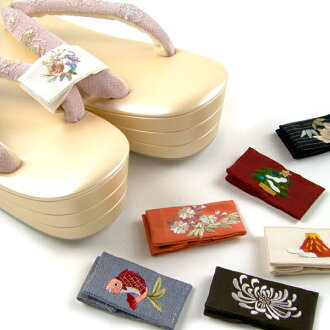 Review mentioned in 1426 Yen zori and geta to domestic hand embroidered straps guard animals series