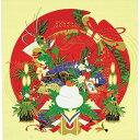 ショッピング一升餅 彩時記 綿小風呂敷 ふろしき お正月 中巾(50cm幅) エコバッグ 母の日 父の日 ギフト プレゼント クリスマス おしゃれ 可愛い 一升餅 名入れ可 赤