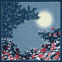 ショッピング一升餅 綿大判風呂敷 ふろしき 自遊布 日本の冬三巾(118cm幅) エコバッグ 母の日 父の日 ギフト プレゼント クリスマス おしゃれ 可愛い 一升餅 名入れ可 グレー