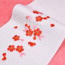 日本製 子供用 刺繍半衿(半襟) 白 七五三 結婚式 3歳 ...