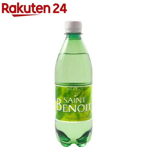 サンブノワ 炭酸水(500mL*24本入)【サンブノワ(Saint Benoit)】[ミネラルウォーター 水]【送料無料】