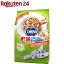 コンボ キャット 肥満が気になる猫用 かつお味 鮭チップ かつお節添え(140g 5袋入)【コンボ(COMBO)】