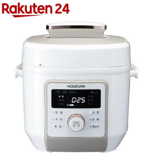 コイズミ マイコン電気圧力鍋KSC-4501/W