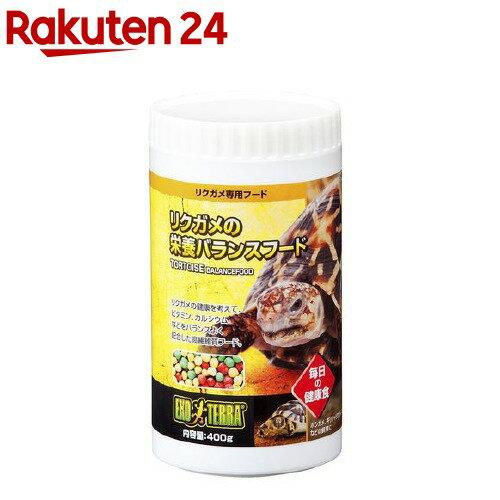 エキゾテラ リクガメの栄養バランスフード(400g)【エキゾテラ】