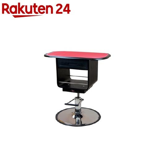 ウッディーエレガント 油圧式テーブル M 黒(1台)【送料無料】