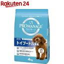 プロマネージ 成犬用 トイプードル専用(4kg)【プロマ
