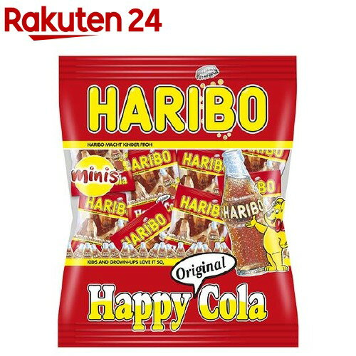 ハリボー ミニハッピーコーラ(250g)【ハリボ...の商品画像