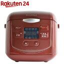 4合炊きマイコン式炊飯器 レッド SCR-H40R(1台)