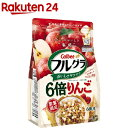 カルビー フルグラ6倍りんご味 600g 1セット(6袋)