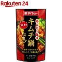 ダイショー 辛口キムチ鍋スープ(750g)
