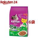 カルカンドライ 15歳から用 かつおと野菜味(1.6kg*6コセット)【カルカン(kal kan)】【送料無料】