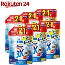 アタック3X 洗濯洗剤 つめかえ用 超特大サイズ 梱販売用(...
