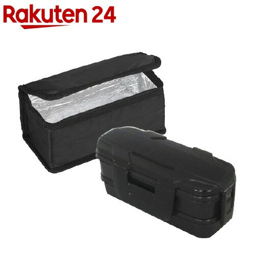 ロックフォー ランチボックス2段 保冷バッグ付 仕切付 BL-26HI(1コ入)