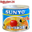 サンヨー フルーツみつ豆(130g*12コ)