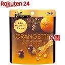 オランジェットビターチョコレート(49g*6コセット)【meijiAU01】